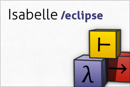 Isabelle/Eclipse splash